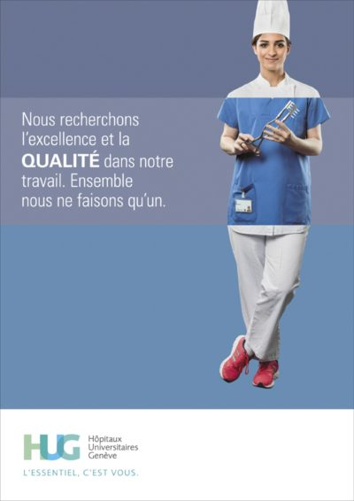 Publicité Institutionnel Clinique Grand Salève, M&C Saatchi
