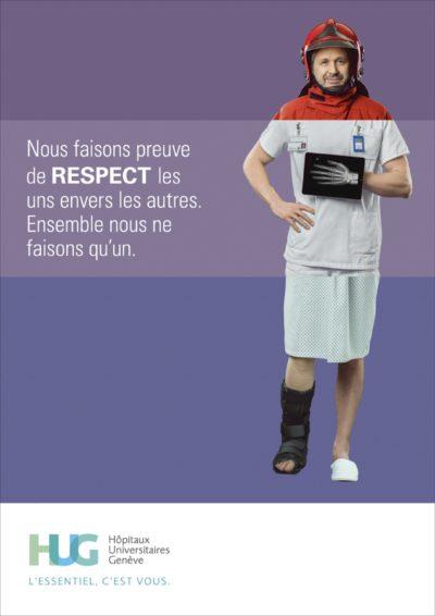 Publicité Institutionnel Clinique Grand Salève, M&C Saatchi