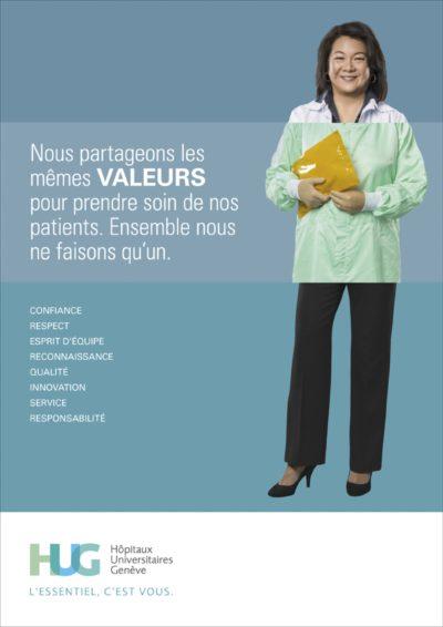 Publicité Institutionnel. Clinique Grand Salève, M&C Saatchi