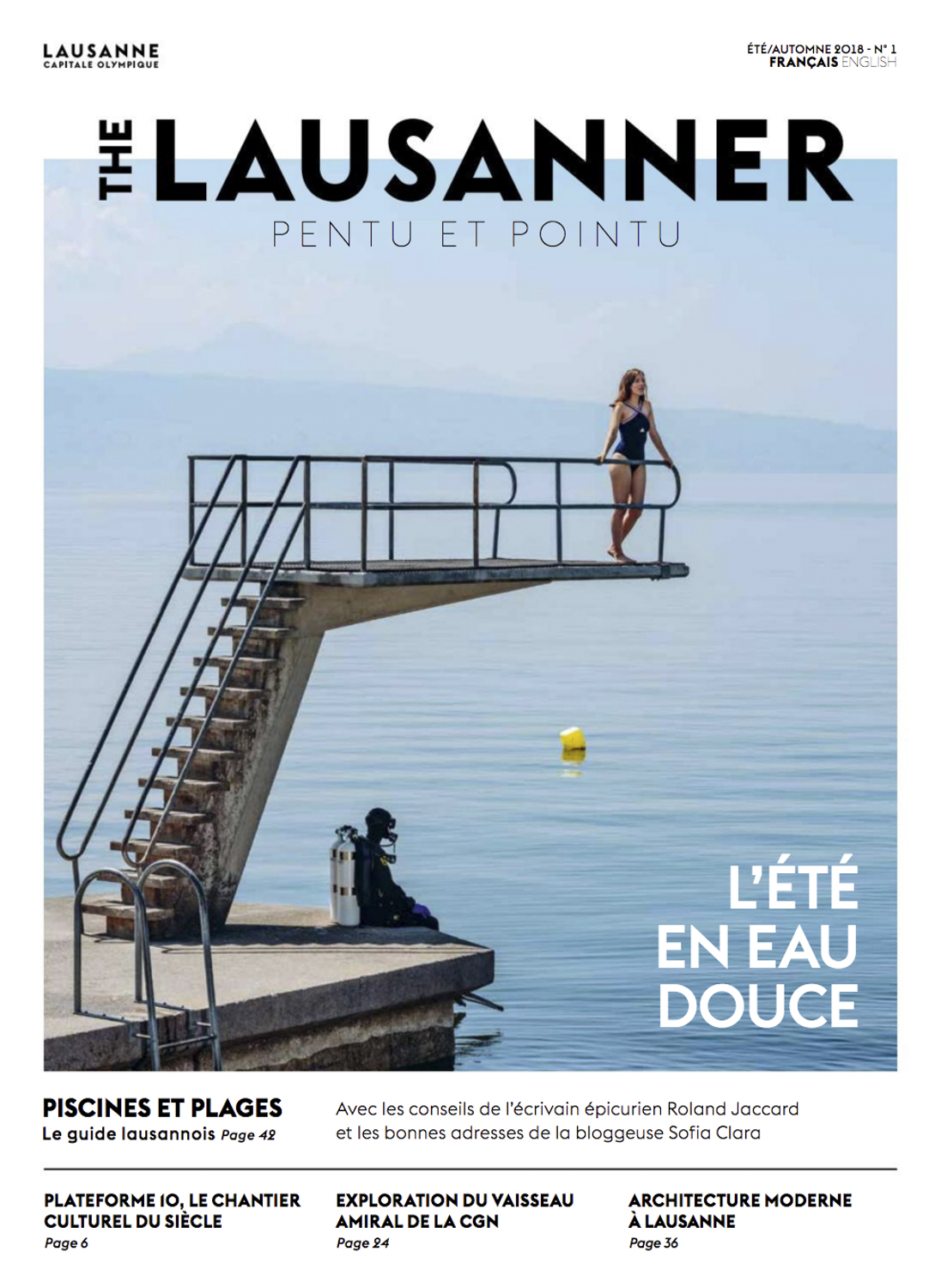 The Lausanner Cover